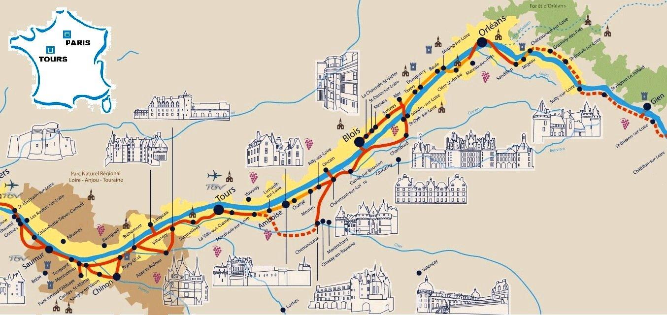 Nos Plus Beaux Voyages En Europe 187 Chateaux De La Loire